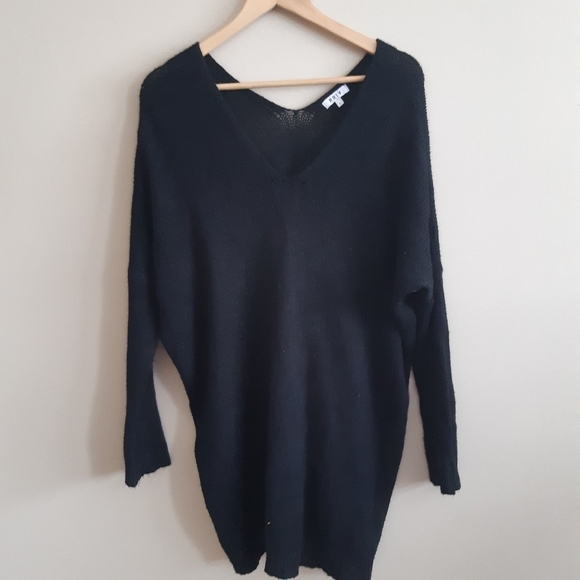 2 for $25 PRIV black light oversized sweater